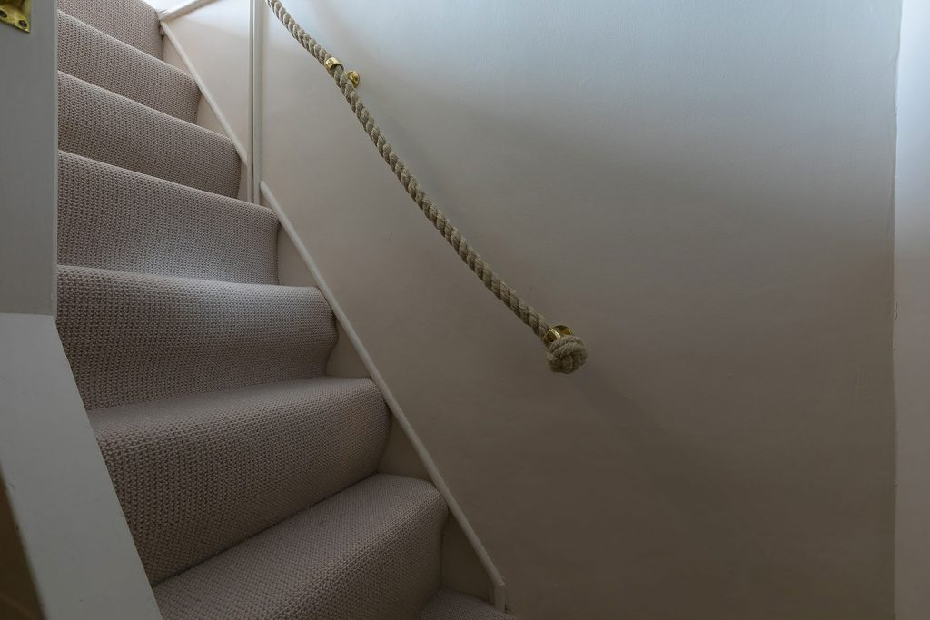 Stairs to the Du Maurier Room
